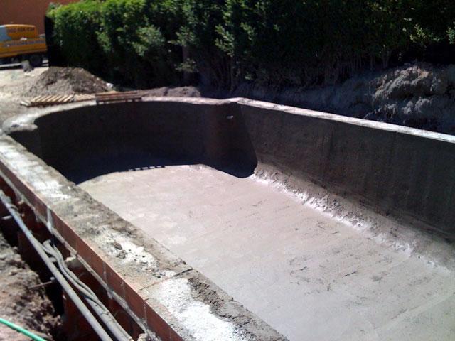 Servicio de gunitado de piscinas for Hormigon gunitado piscinas